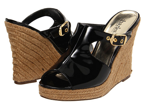 Sandale Charles by Charles David - Lucy - Black Patent