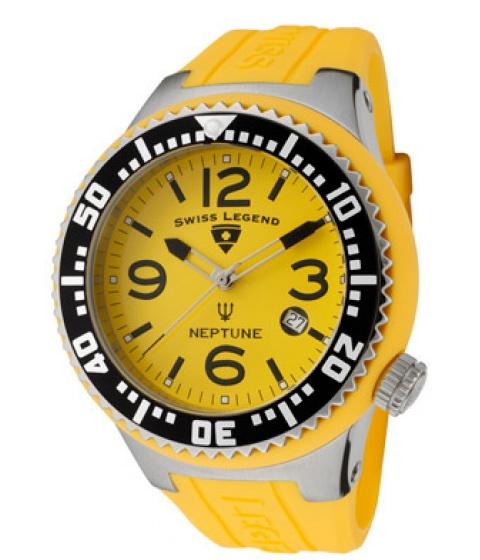 Bluze Swiss Legend - Ceas Barbati 21848p07 neptune yellow - Multicolor
