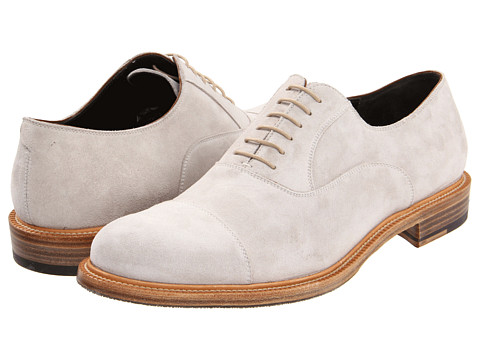 Pantofi Fratelli Rossetti - Suede Laced Up Oxford - Bianco