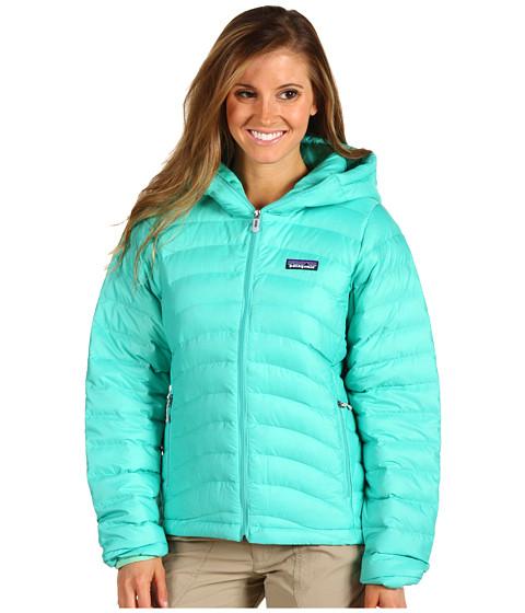 Jachete Patagonia - Down Sweater Full-Zip Hoodie - Light Aquarium