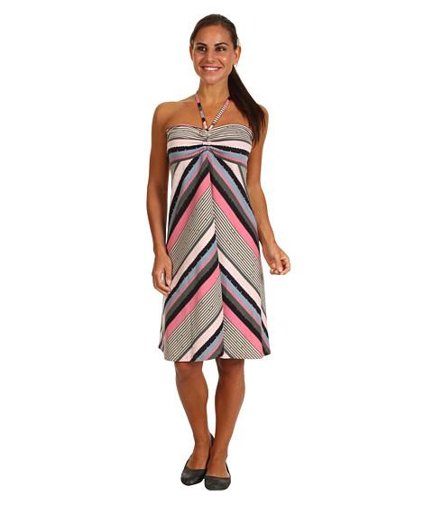 Fuste Patagonia - Kamala Convertible Dress - Nakashima Stripe/CosmoPink