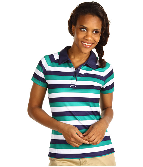 Tricouri Oakley - Tourney Stripe Polo - Midnight Blue