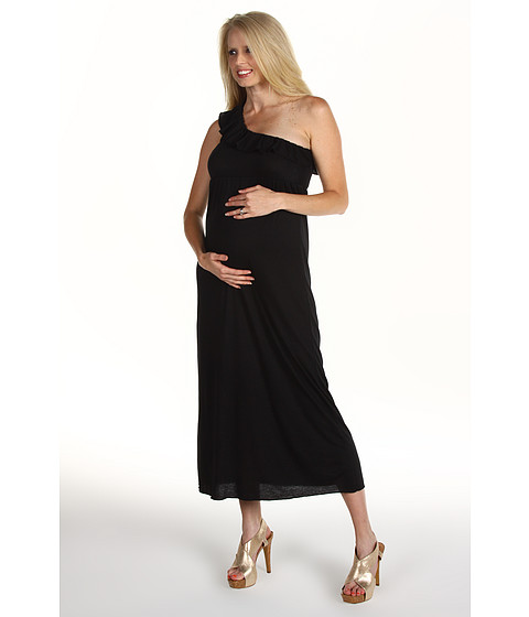 Rochii Christin Michaels - Lynn Maternity Dress - Black