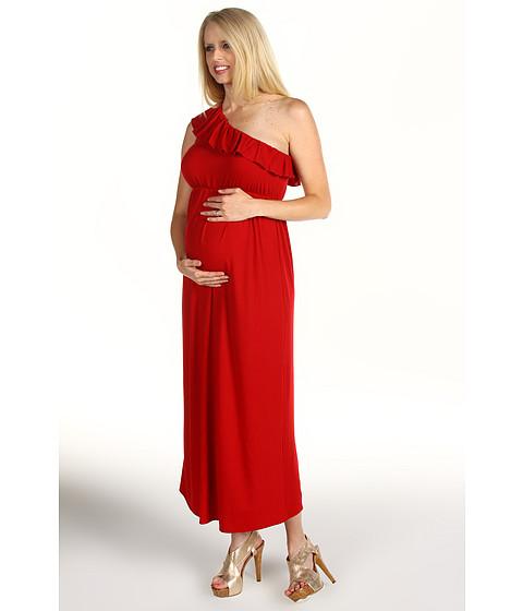 Rochii Christin Michaels - Lynn Maternity Dress - Red