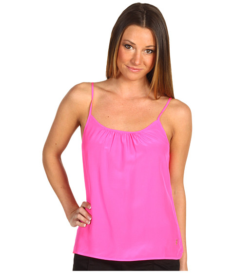 Bluze Juicy Couture - Silk Solid Cami - Ultra Fuchsia