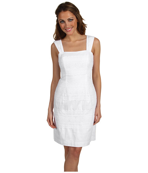 Rochii Lilly Pulitzer - Bree Dress - Resort White For the Love of Lace
