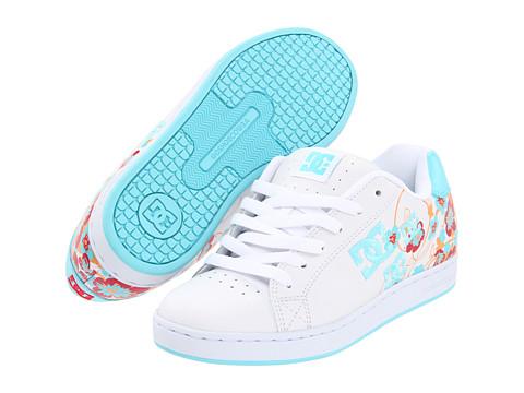 Adidasi DC - Pixie Cherry Blossom W - White/Ocean/Citrus