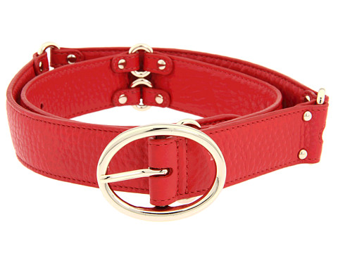 Curele Cole Haan - Village Double Ring Belt - Tango Red