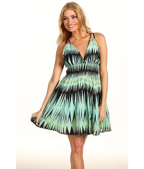 Rochii Free People - Indian Summer Lurex Dress - Moss Combo