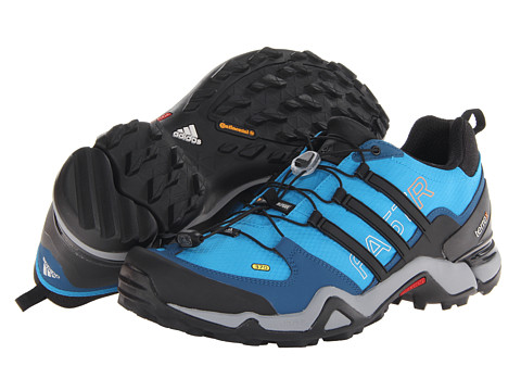 Adidasi adidas - Terrex Fast R - Solar Blue/Black/Solar Zest