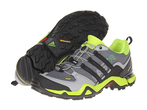 Adidasi adidas - Terrex Fast R - Lead/Black/Solar Slime