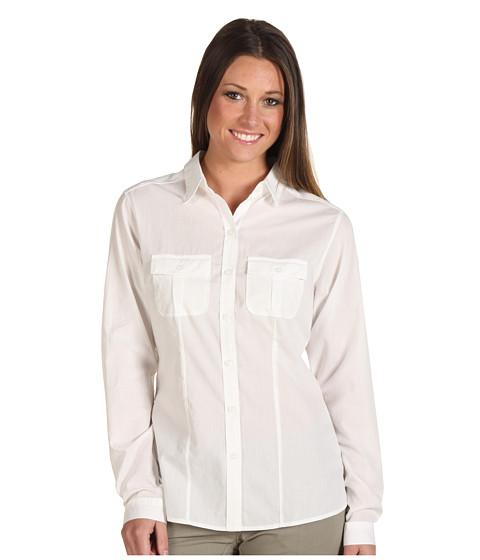 Camasi Patagonia - L/S Gardener Shirt - White