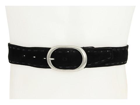Curele John Varvatos - 40MM Flat Strap w/ Lacing - Black