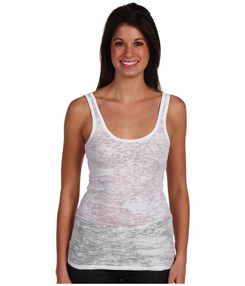 Bluze Alternative Apparel - Burnout Tank - White