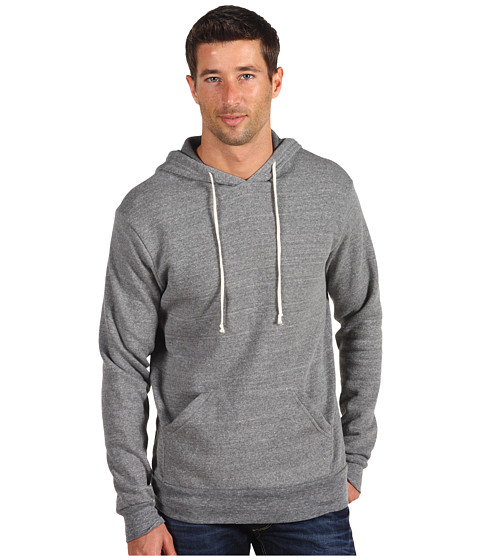 Bluze Alternative Apparel - Hoodlum Pullover Hoodie - Eco Grey