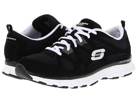 Adidasi SKECHERS - Flex Fit - FreeThrow - Black/White