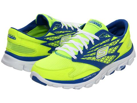 Adidasi SKECHERS - GOrun Ride - Lime/Blue