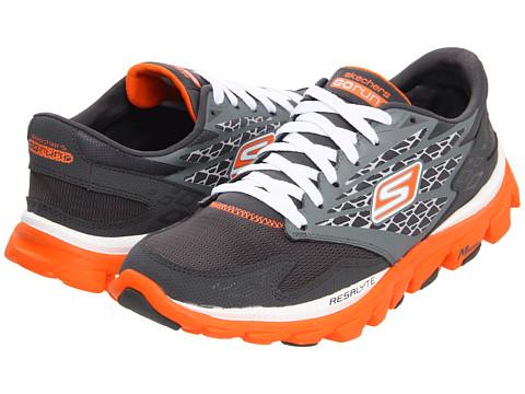 Adidasi SKECHERS - GOrun Ride - Charcoal/Orange