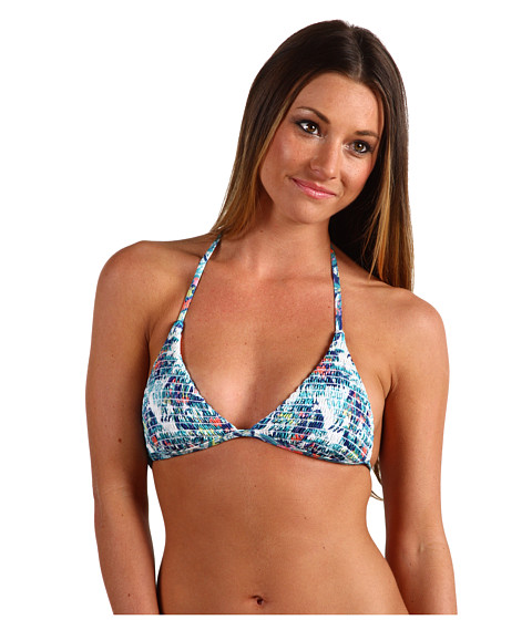 Special Vara Hurley - Willow Triangle Halter Top - Teal
