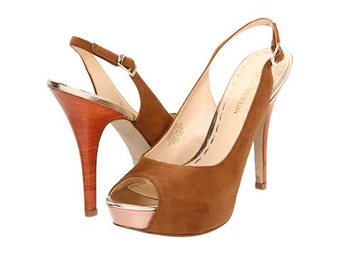 Pantofi Enzo Angiolini - Sunshynne - Dark Natural Suede