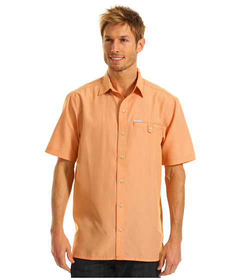 Bluze Columbia - Declination Trailâ⢠S/S Shirt - Spark Orange