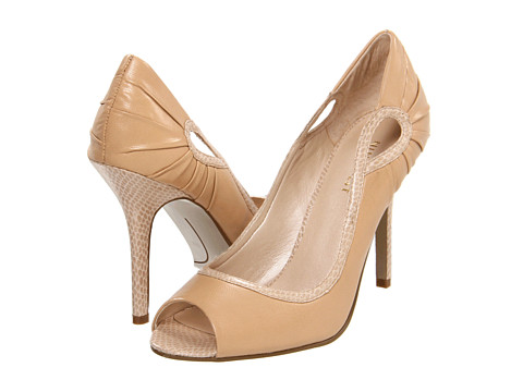 Pantofi Nine West - ShakeItUp - Natural/Natural Leather