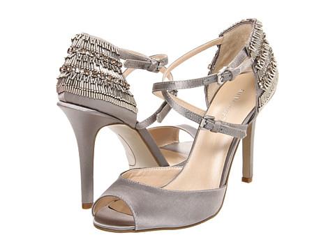 Pantofi Nine West - SpaceAge - Grey Satin