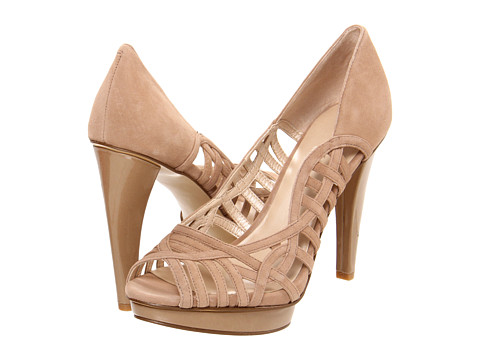 Pantofi Nine West - SpeedUp - Natural Suede