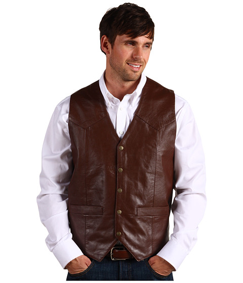 Jachete Roper - Saddle Western Vest - Brown