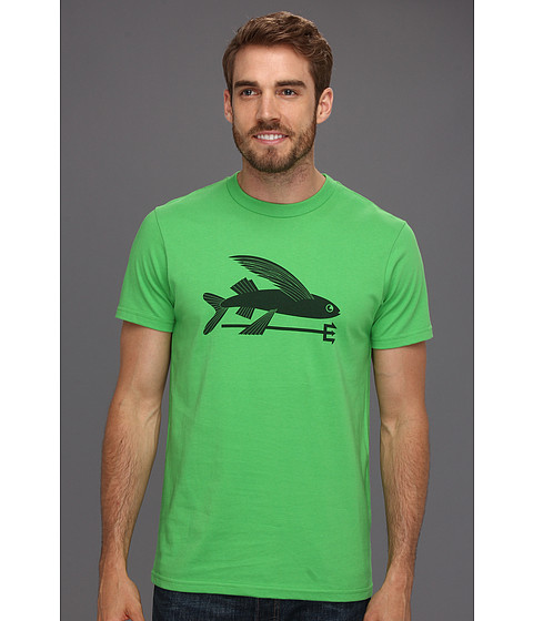 Tricouri Patagonia - Flying Fish T-Shirt - Cilantro