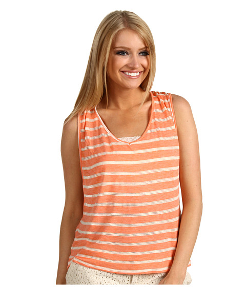 Bluze ONeill - Hathaway Tank Top - Heather Hot Coral