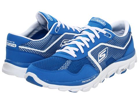 Adidasi SKECHERS - GOrun Ride - Ultra - Blue/White