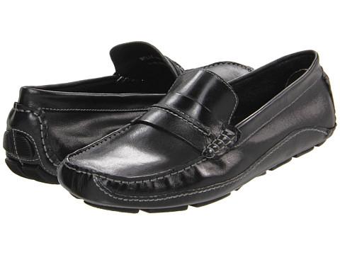 Pantofi Steve Madden - Wells - Black Leather
