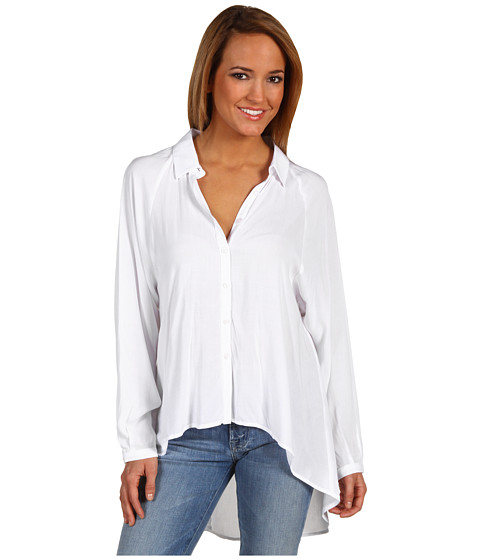 Camasi BCBGeneration - Back Cut Out Shirt - White