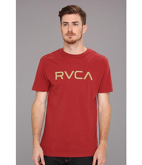 Tricouri RVCA - Big RVCA Tee - Brick Red