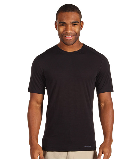 Tricouri Patagonia - Merino 1 Silkweight T-Shirt - Black