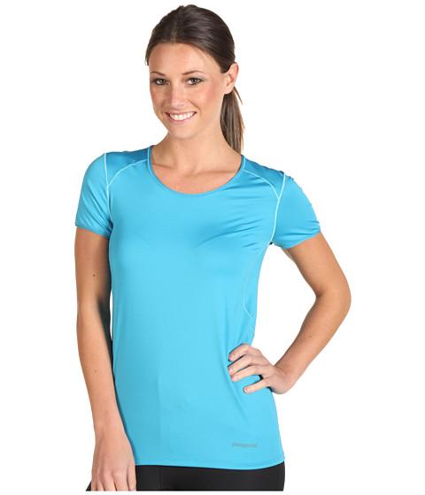 Tricouri Patagonia - Capileneî 1 Silkweight Stretch T-Shirt - Curacao
