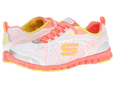 Adidasi SKECHERS - EZ Flex- Barbed Wire - White/Orange