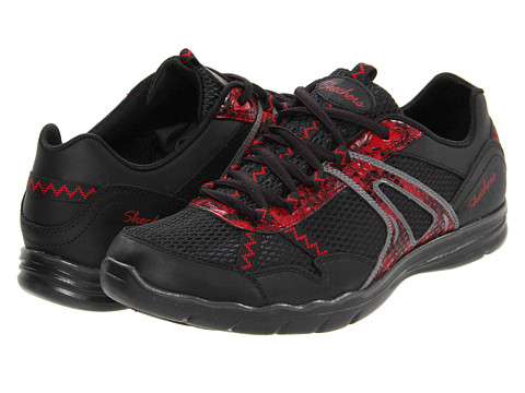 Adidasi SKECHERS - Wild Fire - Black/Red