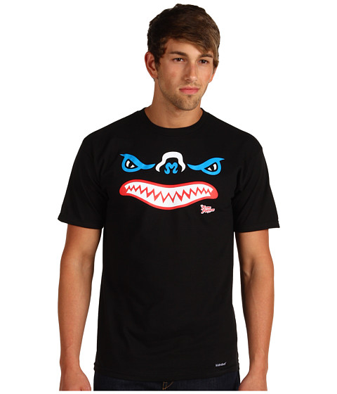 Tricouri Kidrobot - Vampire Bats Fatcap Tee - Black