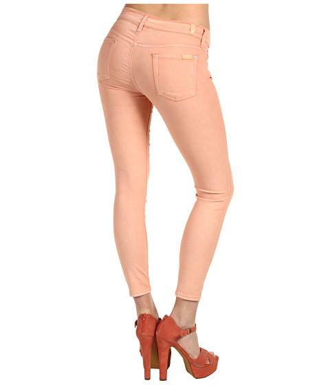 Pantaloni 7 For All Mankind - Crop Skinny - Peach