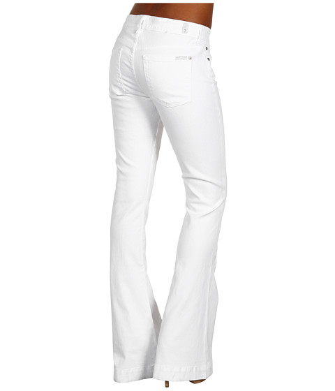 Blugi 7 For All Mankind - Jiselle Flare in Clean White - Clean White