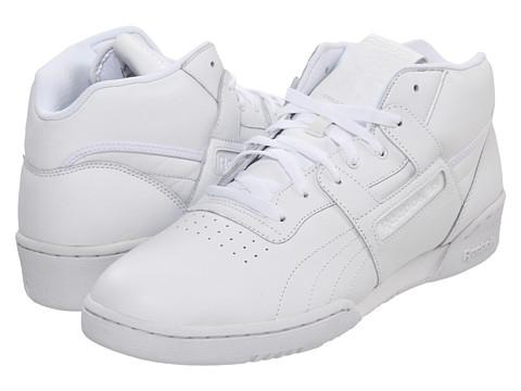 Adidasi Reebok - Workout Mid - White/White/White