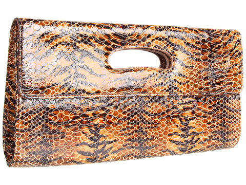Genti de mana Hobo - Katrina - Tiger Print Venice Leather
