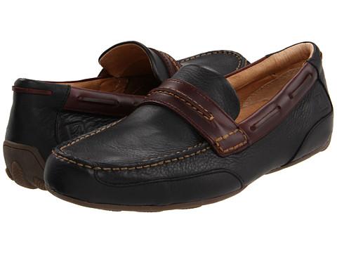 Pantofi Sperry Top-Sider - Navigator Penny - Black Leather/Amaretto