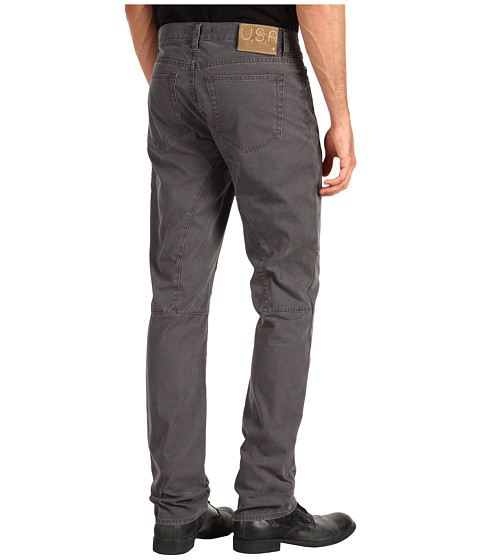 Blugi John Varvatos - Low Slim Seamed Jean - Carbon