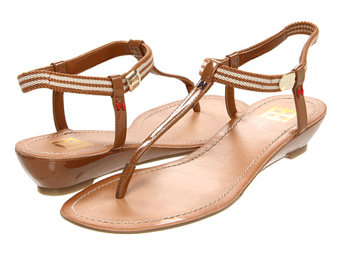 Sandale Tommy Hilfiger - Melly2 - Medium Brown Synthetic