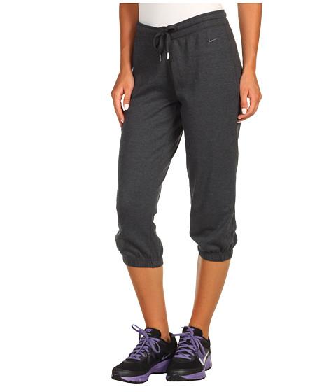 Pantaloni Nike - Lightweight Jersey Cuffed Capri - Anthracite