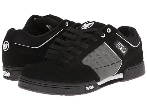 Adidasi DVS Shoe Company - Durham - Black/Grey/White Nubuck