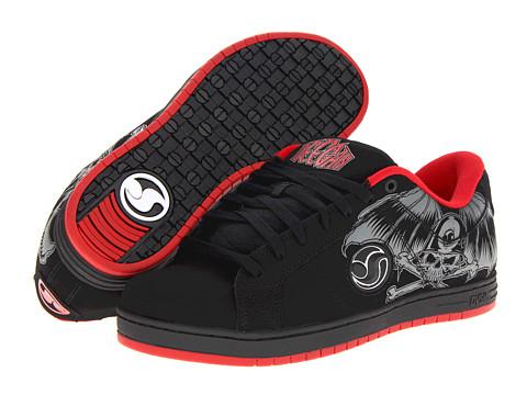 Adidasi DVS Shoe Company - Mastiff - Black Nubuck Deegan